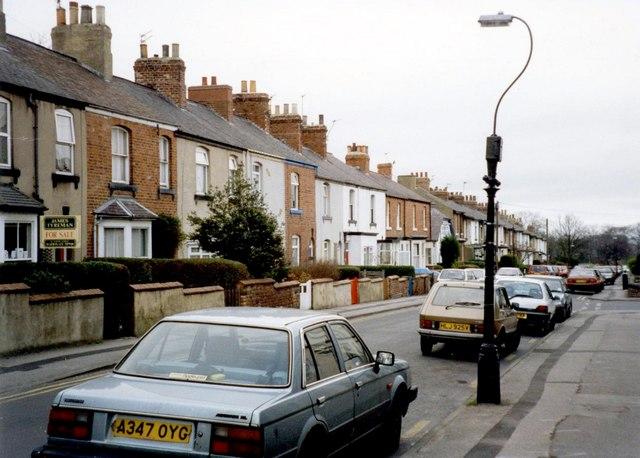 Mount Street, Oatlands Mount, Harrogate, 1997