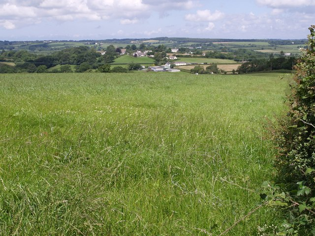 View towards Black Torrington