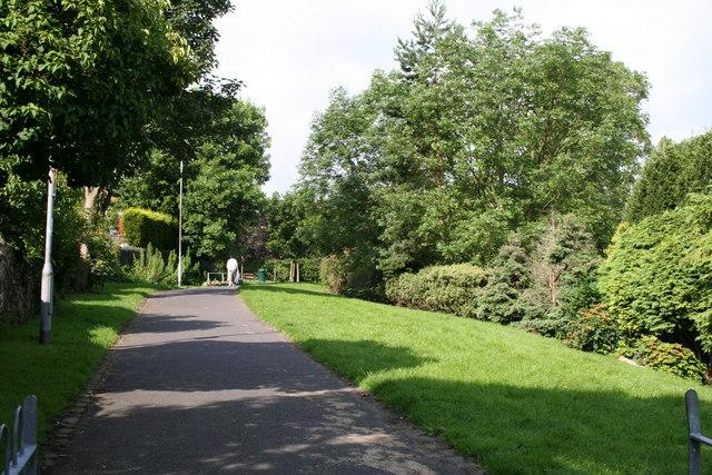 Valley Gardens, Barnoldswick, Yorkshire