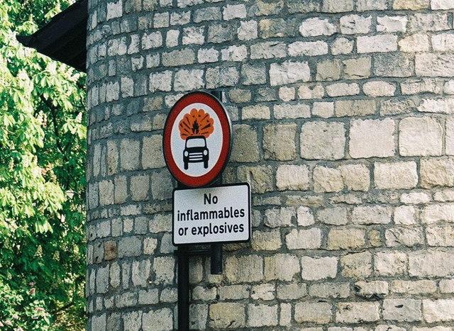 Warning: Do not explode!