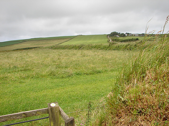 Looking towards Condolden Farm