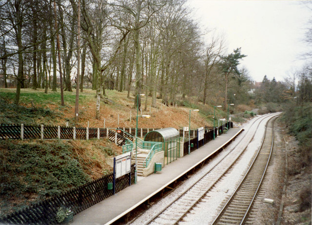 Hornbeam Railway Station, Harrogate, 1999
