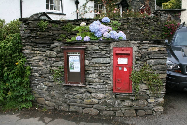 Victorian Letterbox at Clappersgate.