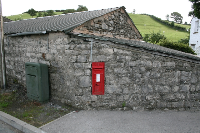 Victorian Postbox at Nook.
