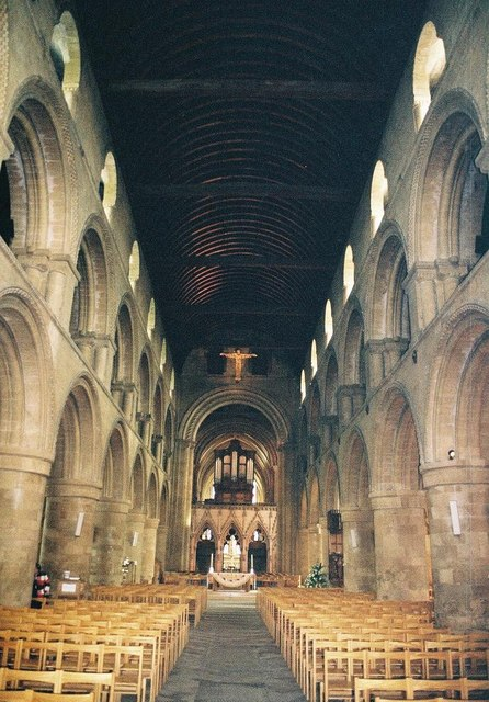 Southwell Minster: interior