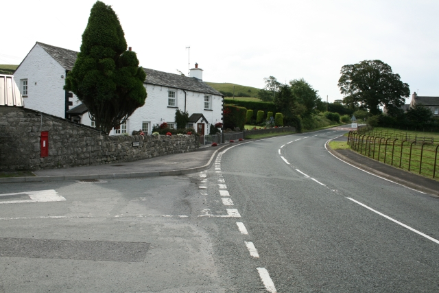 The A65 at Nook.