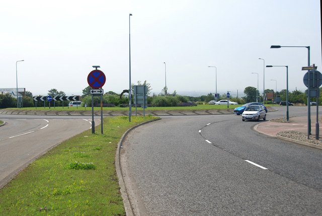 The Minster roundabout, Thanet, Kent