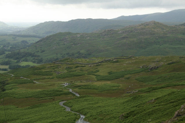 Hard Knott Roman Fort and Eskdale.