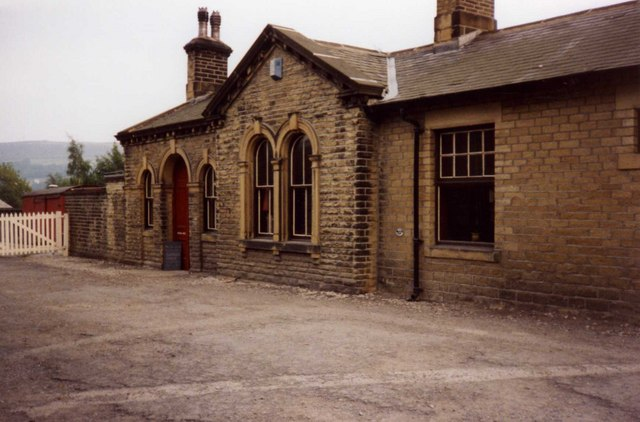 Oakworth Station (rear)