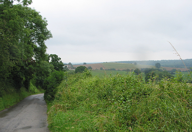 The road to Little Gorsley