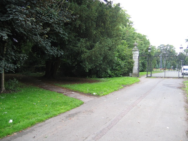 A Footpath and the Duke's Drive