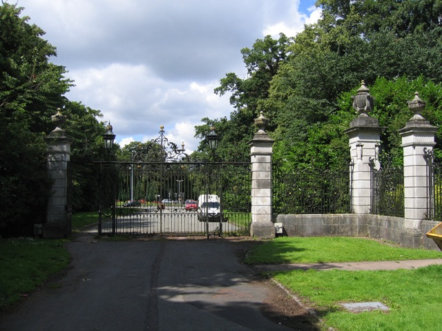The Gates to the Duke's Drive
