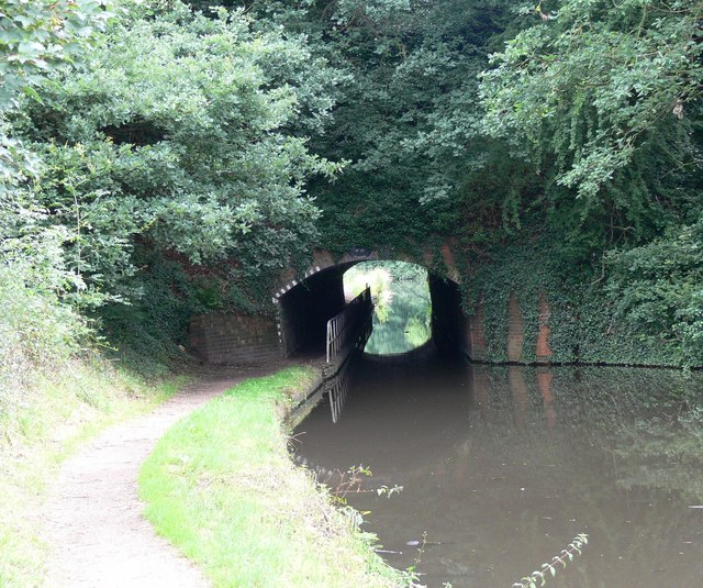 Western portal of Cookley Tunnel