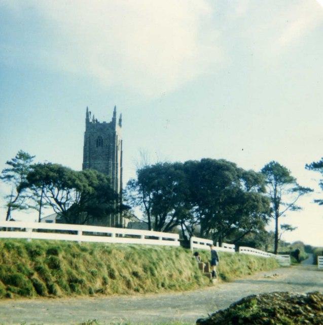 Heanton Punchardon Church (from Heanton School)