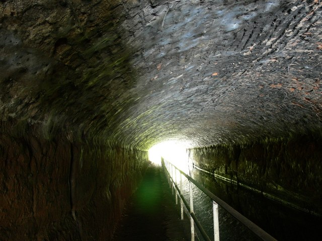 Inside Cookley Tunnel