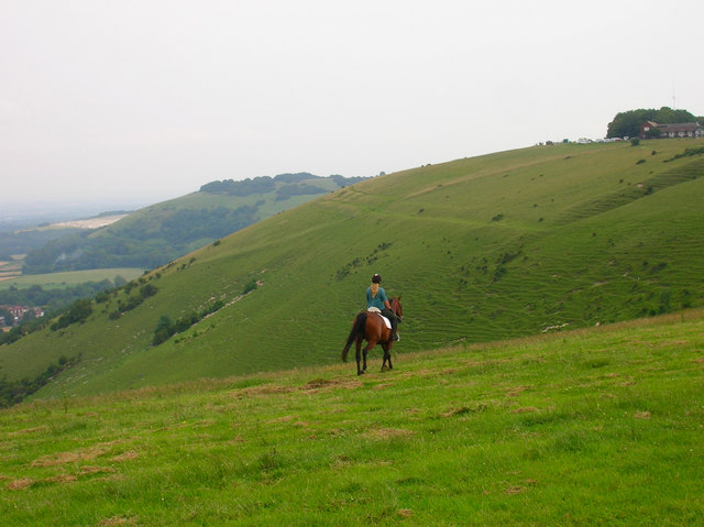 Escarpment near Devils Dyke