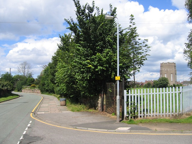 Old Wrexham Road and the Water Tower