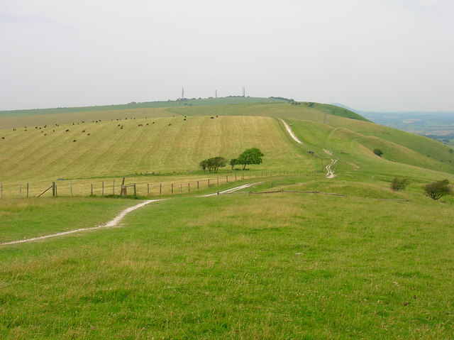 Perching Hill from Fulking Hill
