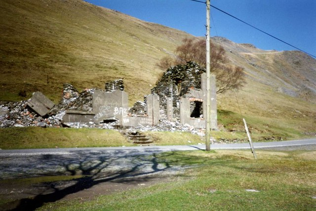 Cwmystwyth ruined miners house