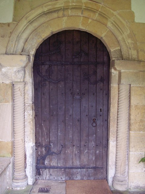 St Mary the Virgin, Ebberston - Door