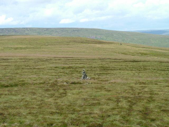 Middle of 3 Curricks on Westernhope Moor