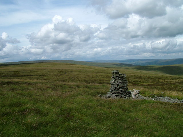 Currick  on Westernhope Moor