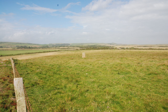 Trig Point at Barnes High