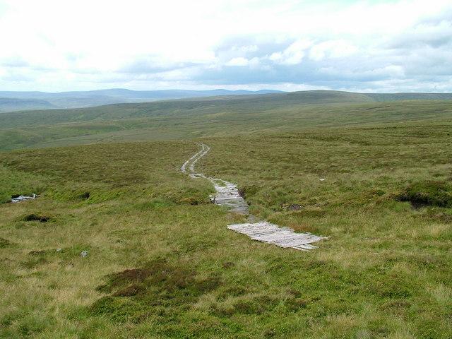 Path on Westernhope Moor