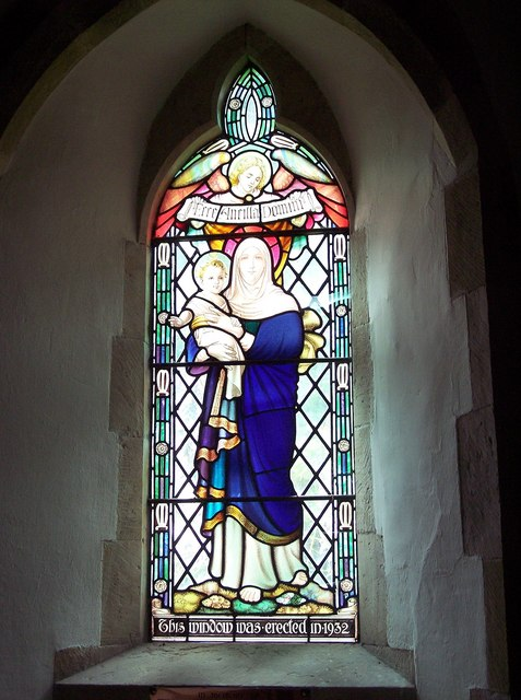 St Mary the Virgin, Ebberston - Stained Glass Window