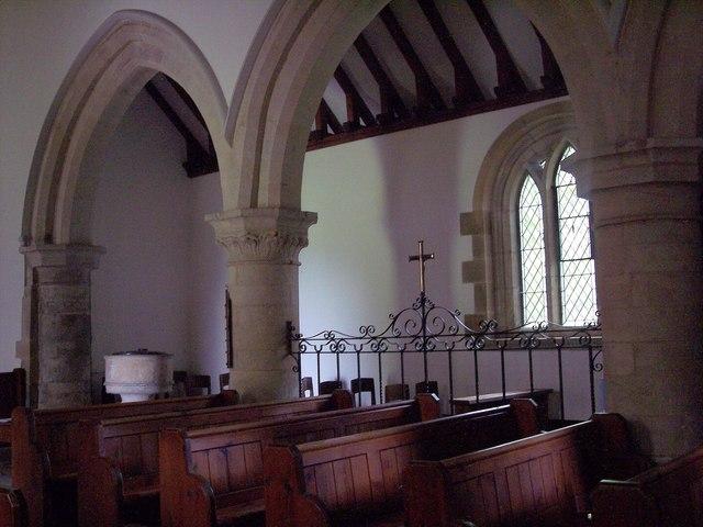 St Mary the Virgin, Ebberston - Interior