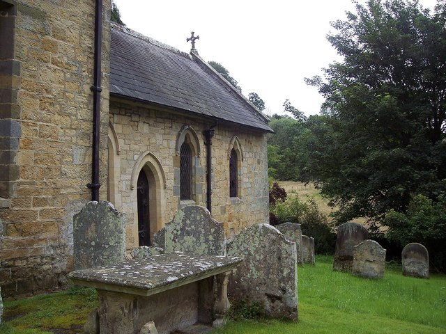 St Mary the Virgin, Ebberston - Old Graves