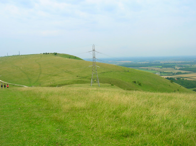 Electricity Pylon from Perching Hill