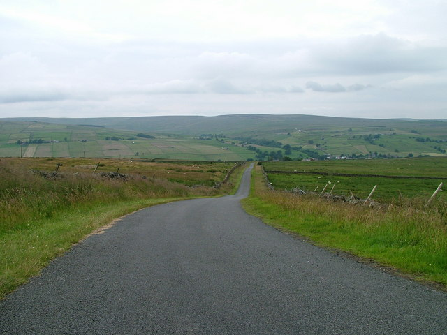 Road into Weardale