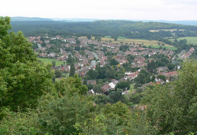 View across Kinver