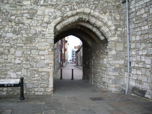 Archway, Gods House Tower