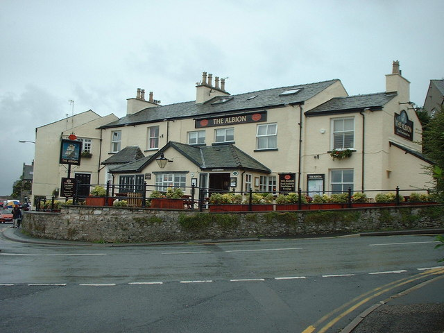 The Albion Public House at Arnside
