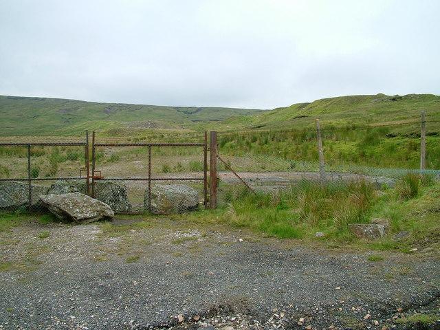 Quarry on Harthope Moor