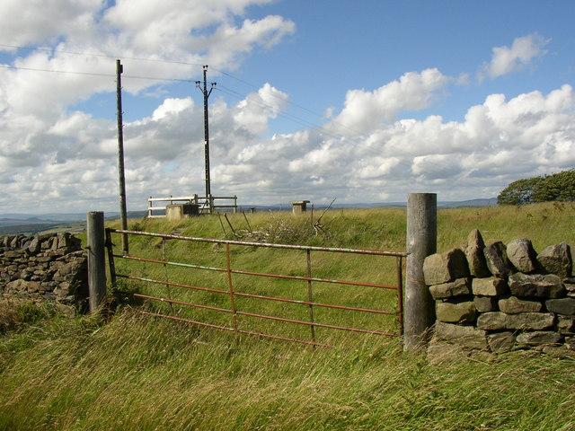 Royal Observer Corps bunker  near Tarn House, Keighley