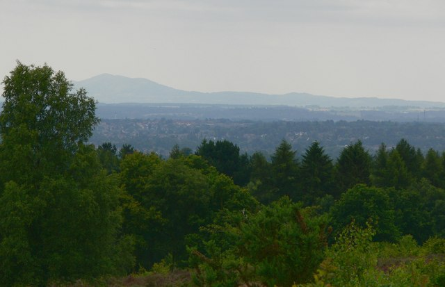 View from Kinver Edge
