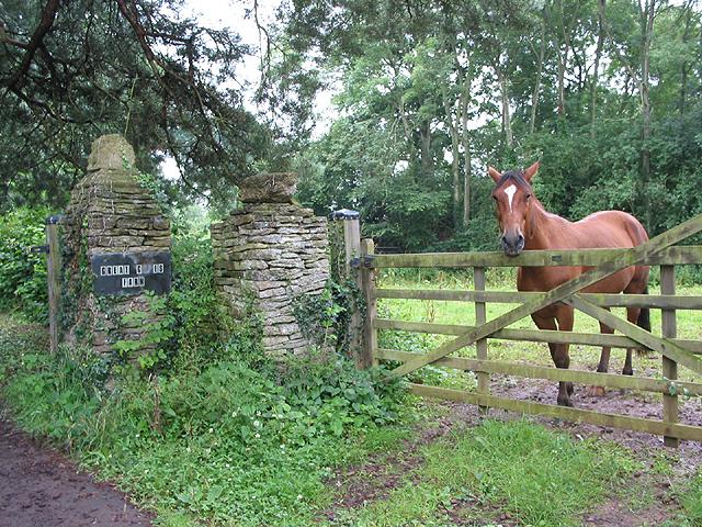 Entrance to Great Giles Farm