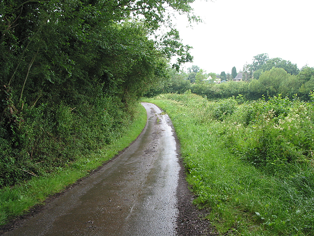 Road between Little Gorsley and Aston Ingham