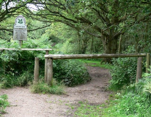 Entrance to Kinver Edge