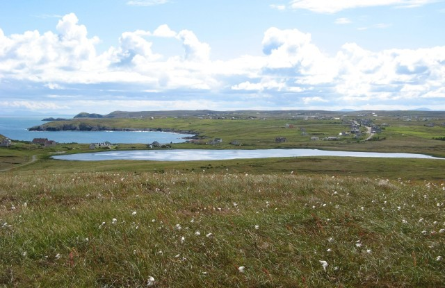 View over Loch an t-Siumpain