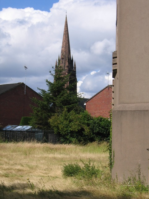 The Spire of St Mary's Without the Walls