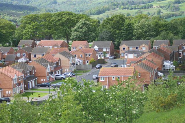 New housing estate Consett