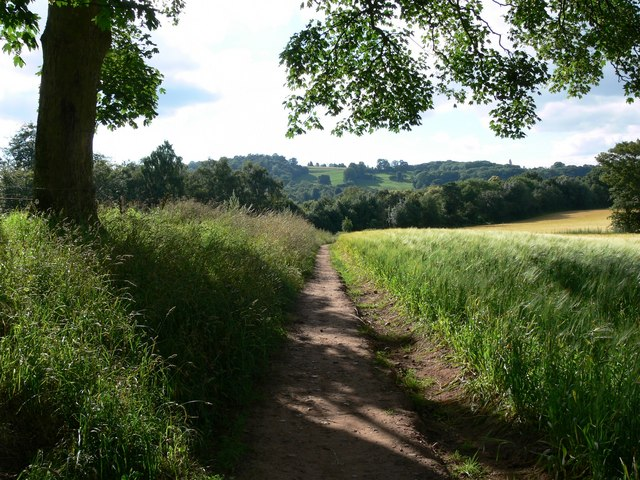 Footpath to Low Habberley