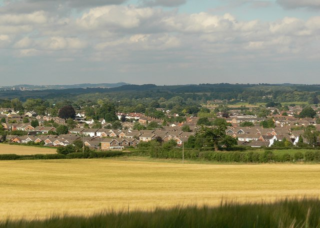 A view across Kidderminster