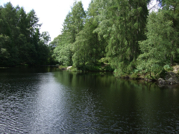 Tarn below High Dam
