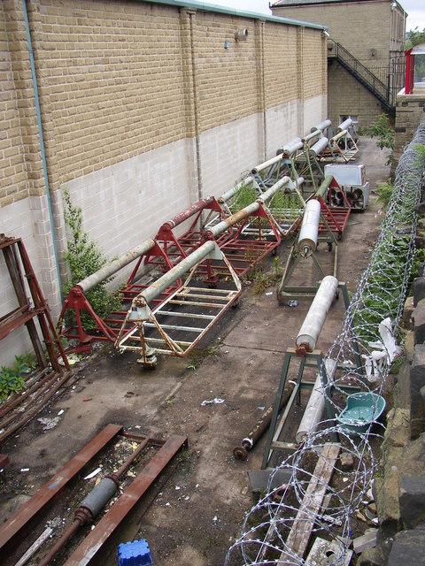 Old mill machinery (2) Linthwaite