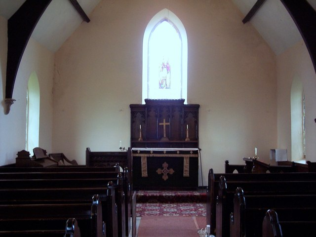 The Church of the Holy Epiphany, Butterwick - Interior